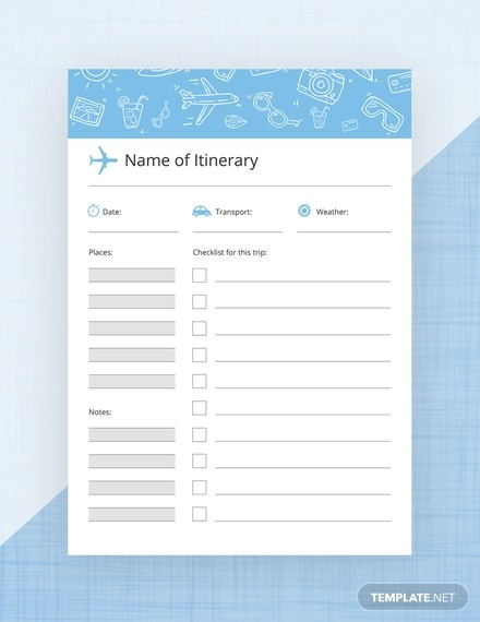travel journal template in psd