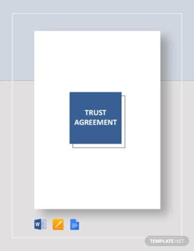 trust agreement template