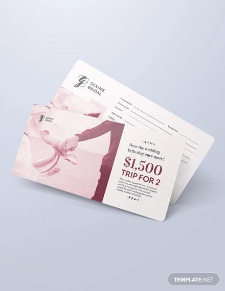 wedding anniversary voucher
