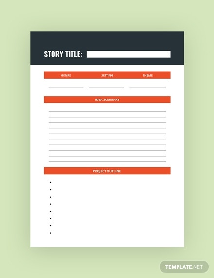 writer journal template in psd