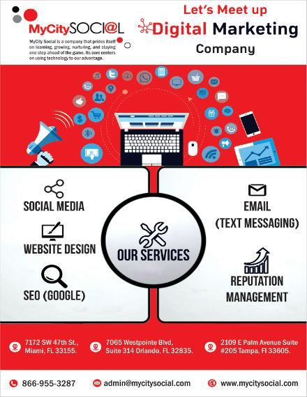 10  digital marketing flyer templates