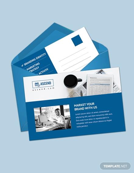 marketing postcard m 1x