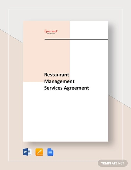 restaurant management service