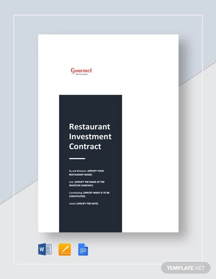 resturant investment