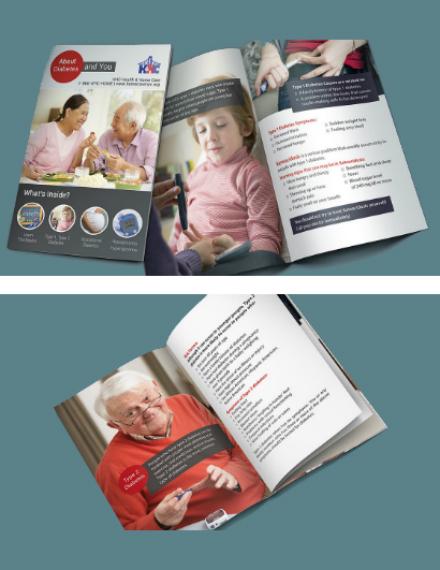 About Diabetes Brochure Template