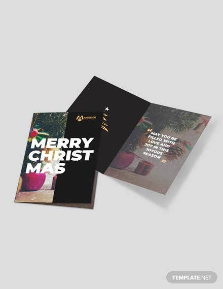 advertising agency greeting card
