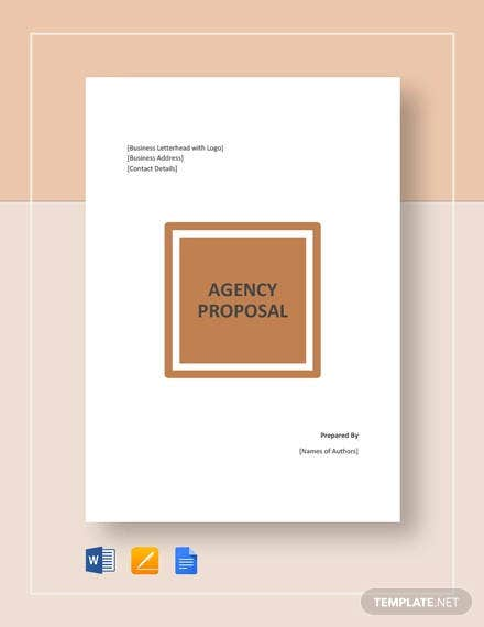 agency proposal template1
