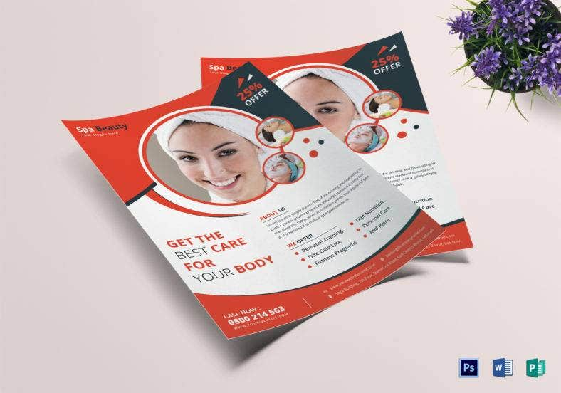 beauty-care-flyer