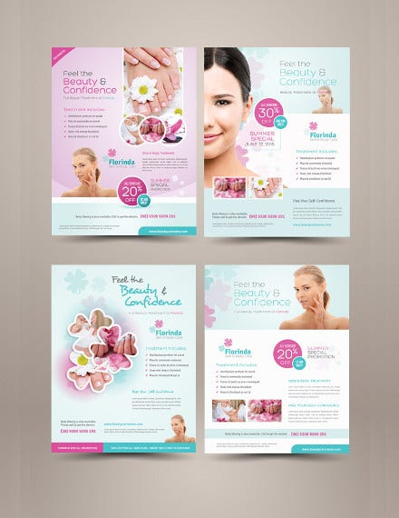beauty-care-flyer-templates