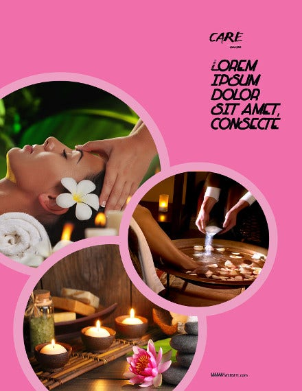 beauty-care-spa-flyer