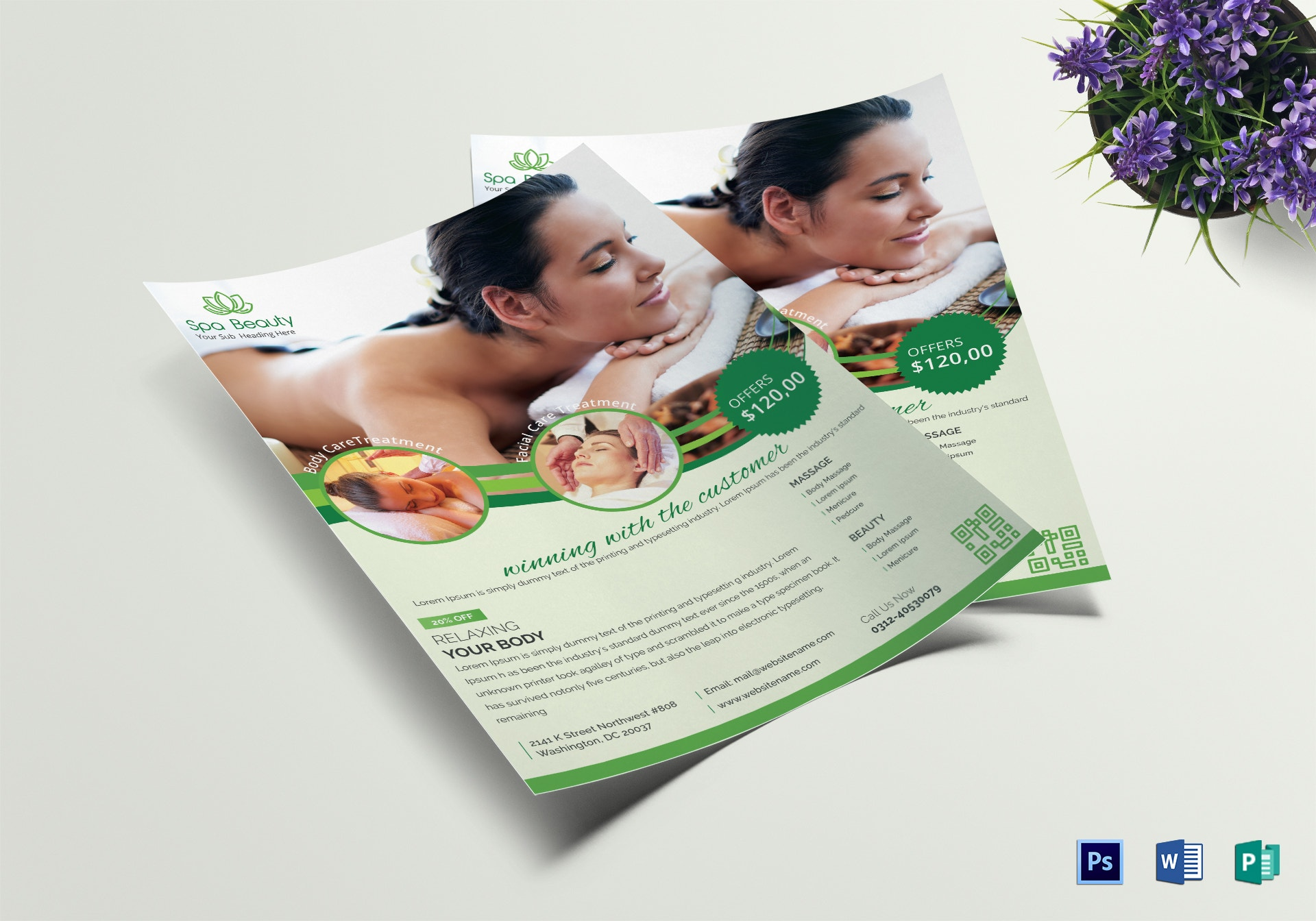 beautyspa flyer