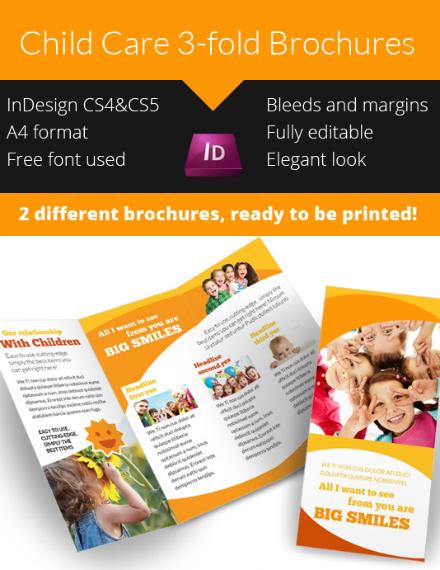 Big Smiles Child Care Brochure