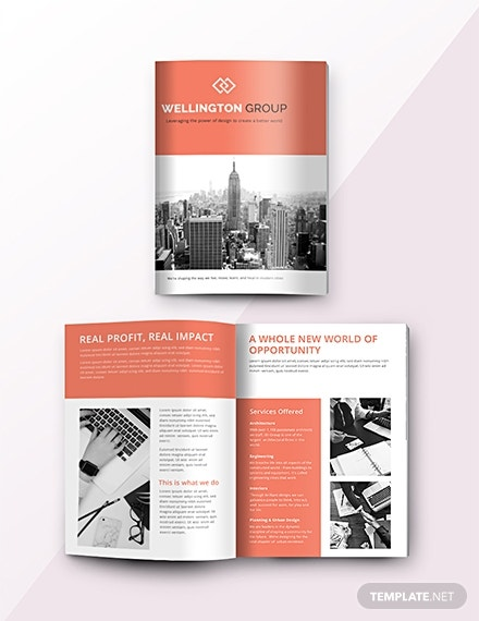business catalog template
