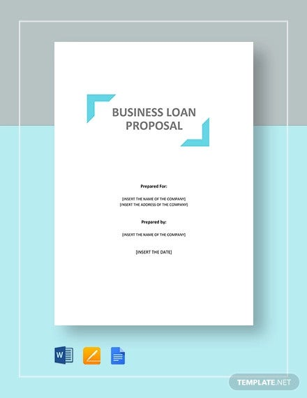 business loan proposal