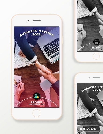 business snapchat geofilters template