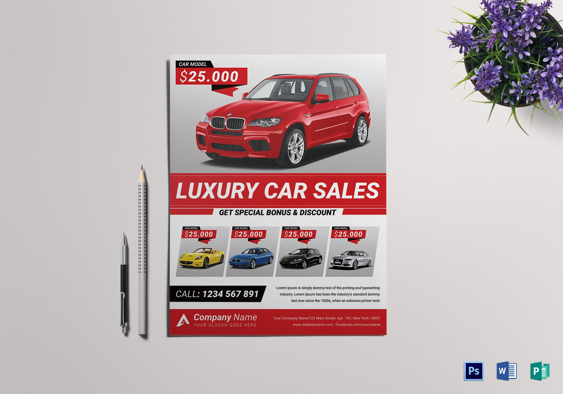 carsale flyer