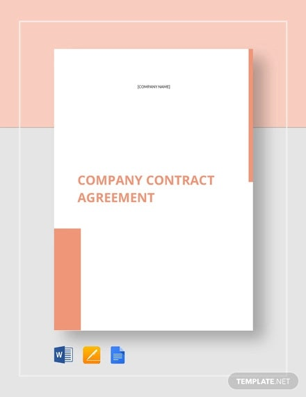 company contract agreement
