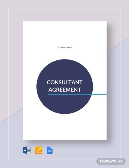 consultant agreement template1