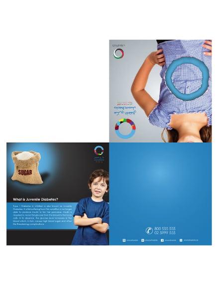 Diabetes Campaign Brochure Design