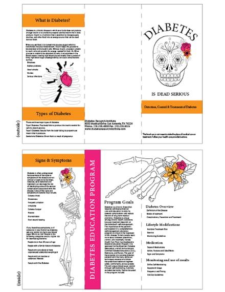 Diabetes Information Brochure Example