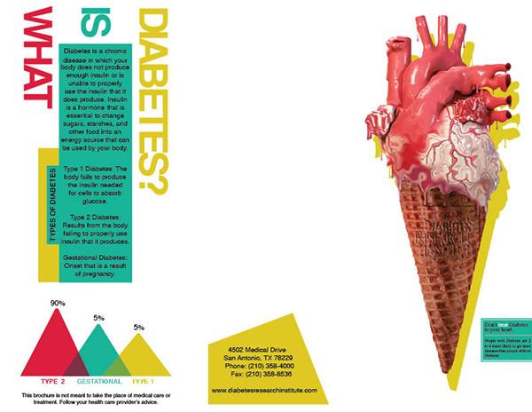 diabetes trifold brochure