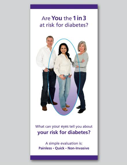 Early Diabetes Detection Brochure Design