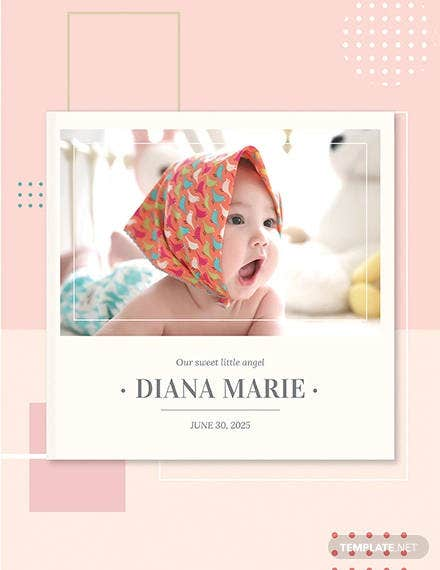free baby book cover template