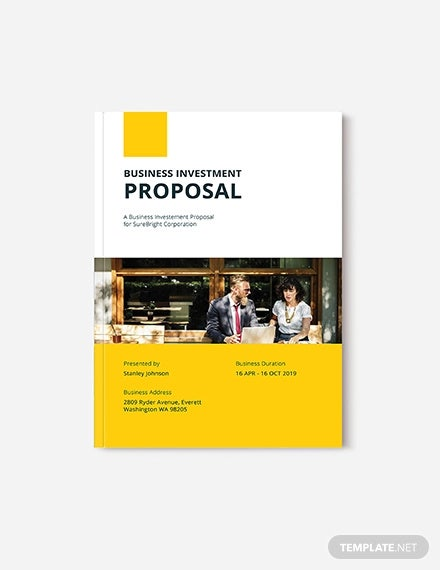 30 investment proposal templates word pdf google docs. Black Bedroom Furniture Sets. Home Design Ideas