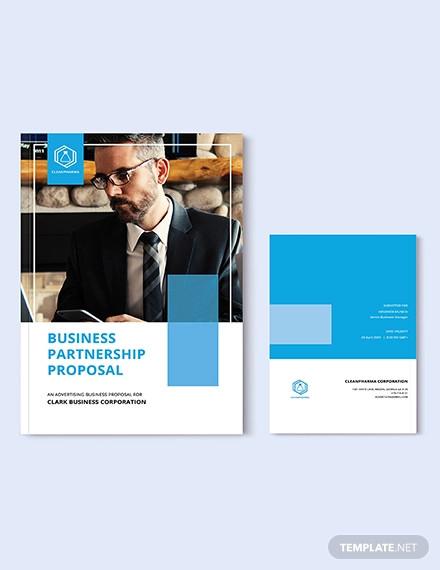 free business partnership proposal template