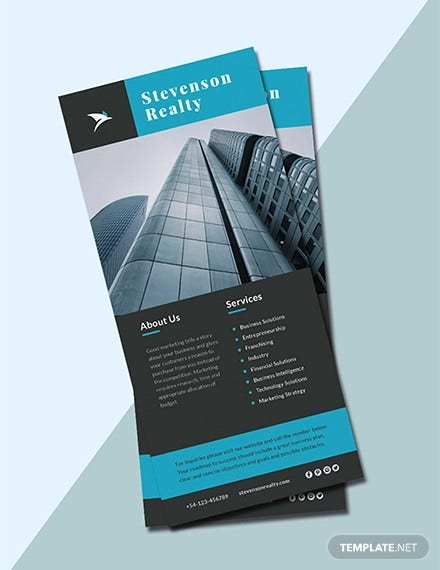 free business rack card template
