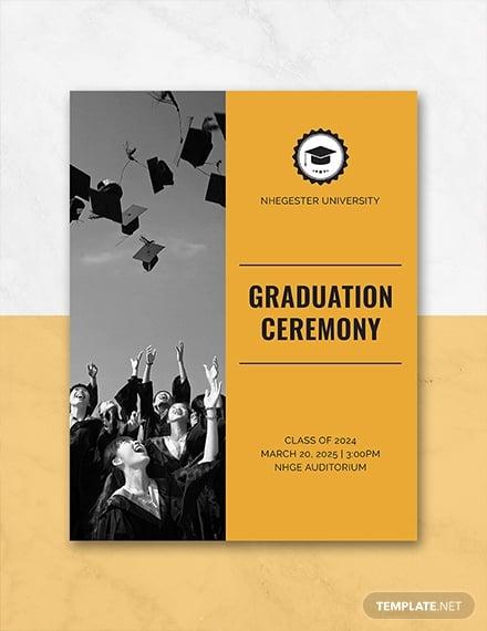 graduation programs template