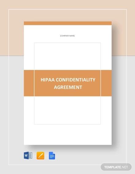 11+ HIPAA Confidentiality Agreement Templates - PDF, DOC