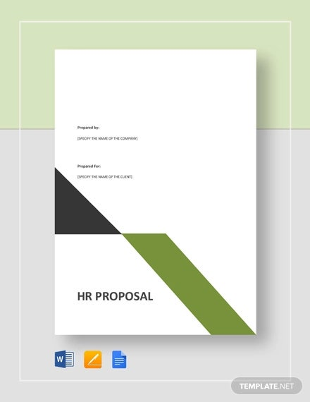 hr proposal template