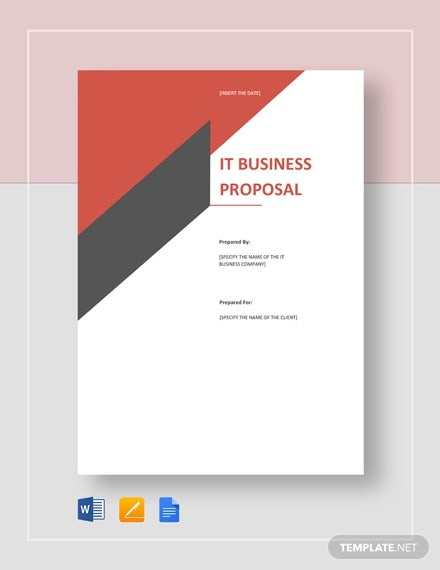 it business proposal template1