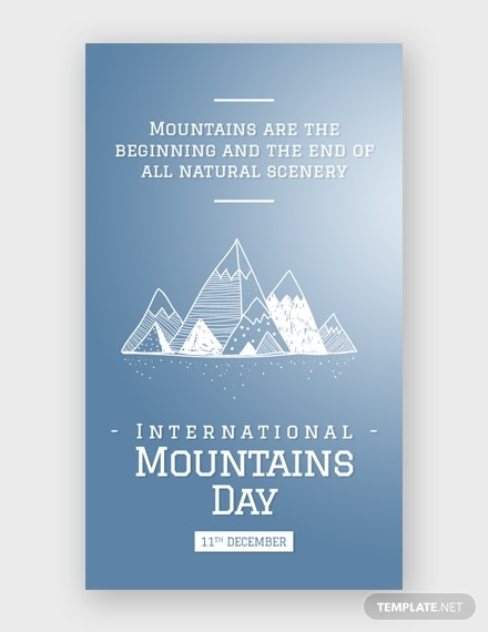 international mountains day whatsapp image