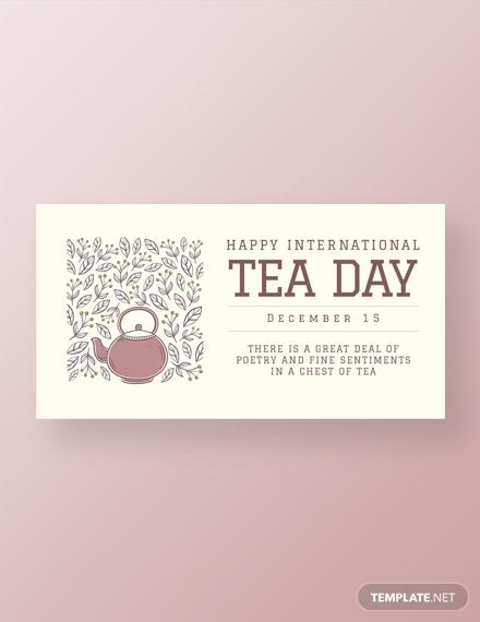 international tea day facebook post