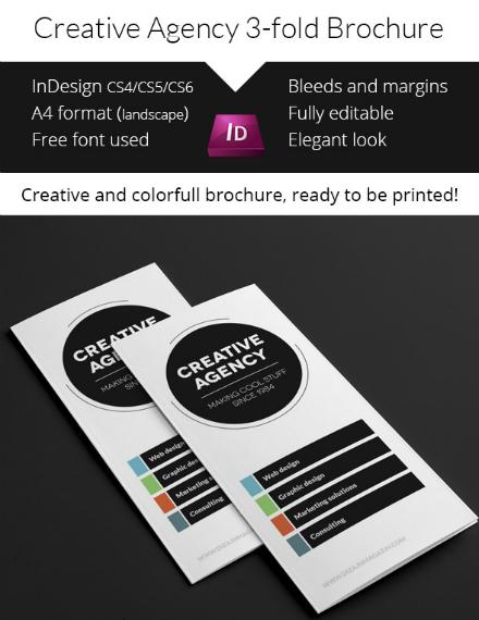 Minimal Creative Agency Brochure Format