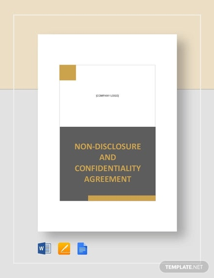 17 Non Disclosure Agreement Keeping The Company S Trade