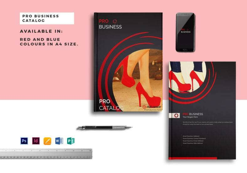 pro business catalog template 788x552