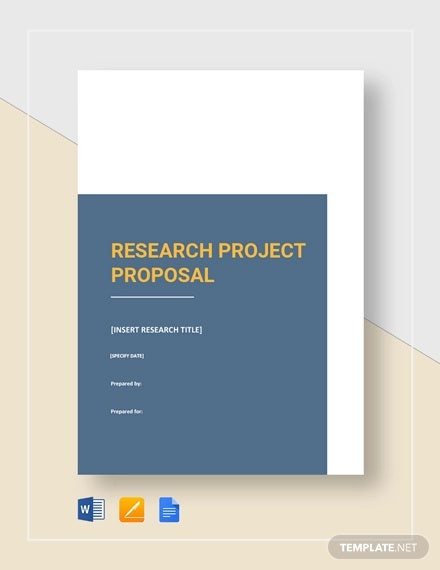 research project proposal template1