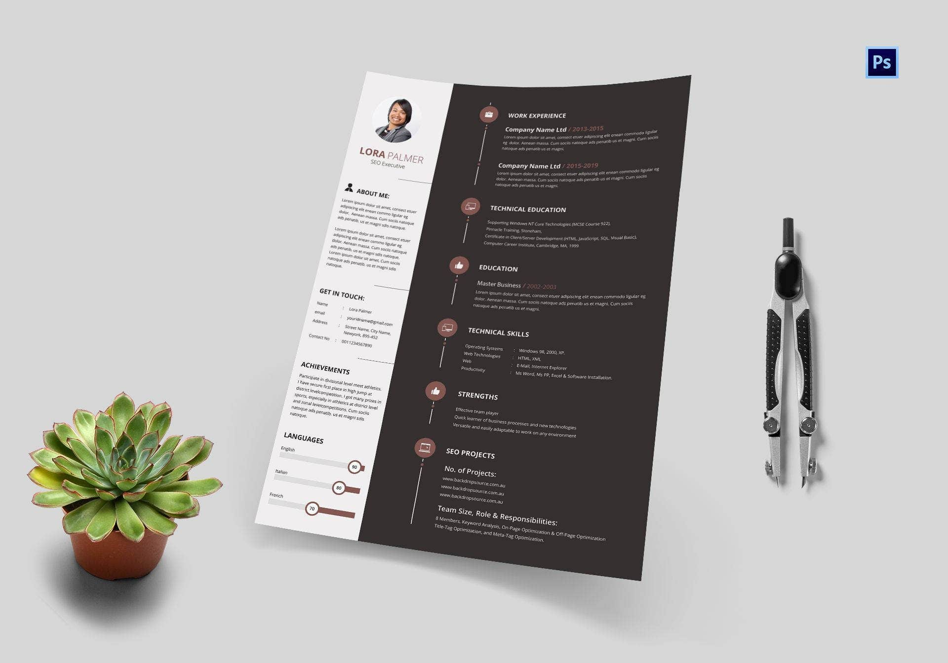 SEO Executive Resume