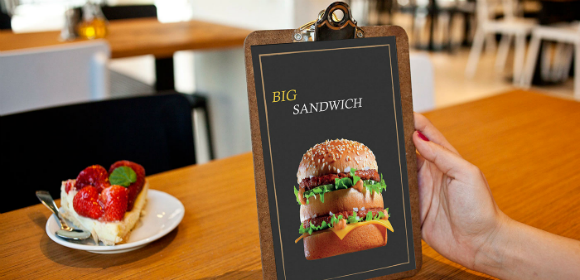sandwich salad menu