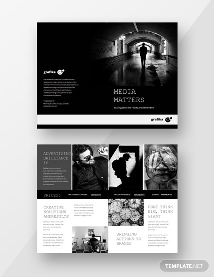 simple advertising catalog template