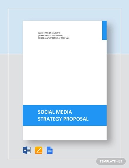 Social Media Strategy Proposal 9 Free Word Pdf Docs