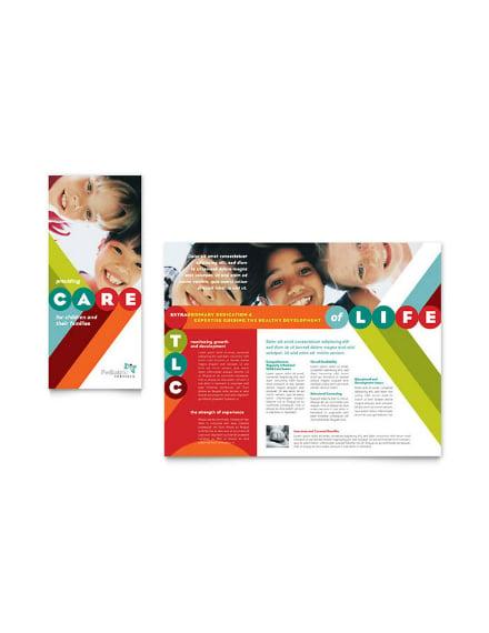 tlc child care brochure example