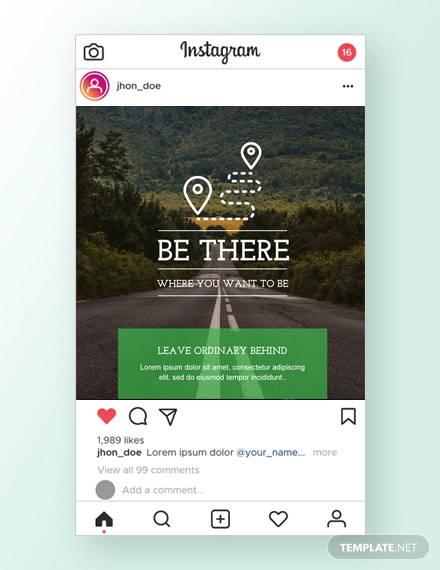 travel instagram ad template1