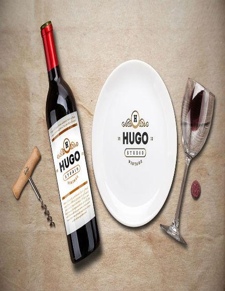 wine service menu