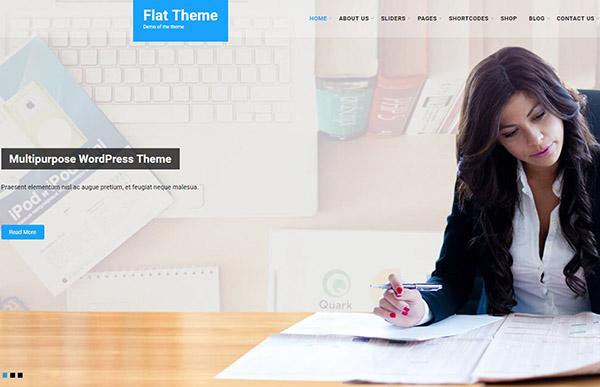 Flat Pro – Minimal WordPress Theme