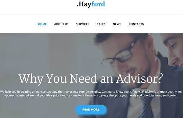 Hayford – Translation Ready WordPress Theme