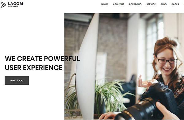Lagom – Multipurpose WordPress Theme